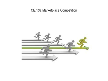 Marketplace Competition power point (Virginia Civics SOL CE.13a)