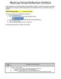 Digital Marking Period Reflection Portfolio- Google Classroom/1:1 Device Lesson