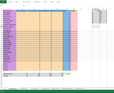 Marking Spreadsheet - Microsoft Excel