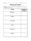 Marking up v-e syllables