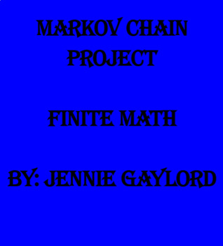 Markov Chain Project