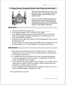 Marks of the Catholic Church: Unit for Middle/High School Theology & Religion