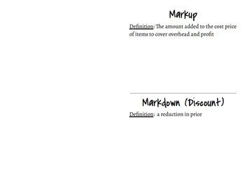 Markup/Markdown Foldable