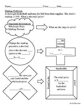 Markup Worksheet SDI