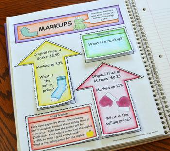 Markups Foldable