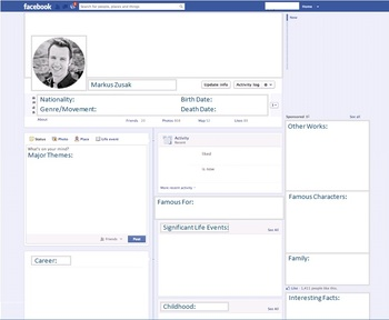 Markus Zusak - Author Study - Profile and Social Media