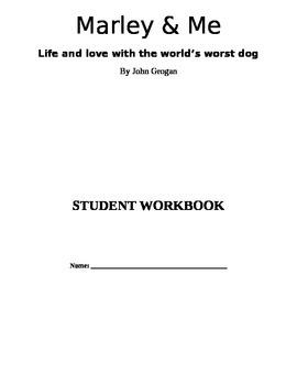 Marley and Me Workbook