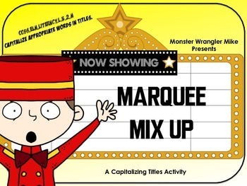 Marquee Mix Up: Capitalizing Titles Correctly