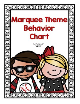 Marquee Theme Behavior Chart