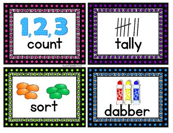 Marquee Theme Pictorial Direction Cards
