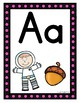 Marquee/Spotlight Themed Alphabet Posters