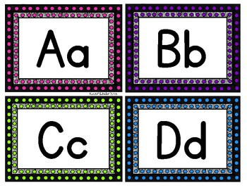 Marquee/Spotlight Themed Word Wall Headers