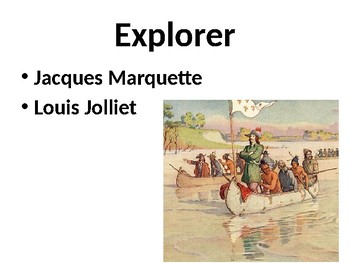 Marquette and Joliet Powerpoint