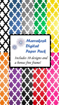 Marrakesh Digital Paper Pack