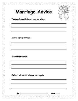 Marriage Advice Book
