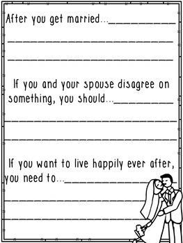 Marriage Advice (Class Book)
