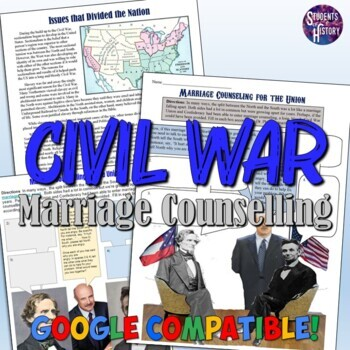 Civil War Marriage Counseling for the Union Worksheet