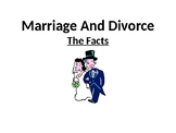 Marriage & Divorce - The Facts