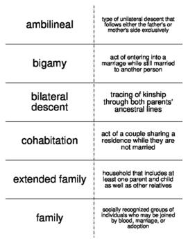 family and kinship sociology