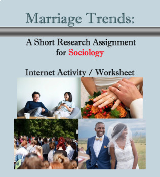 marriage trends sociology worksheet internet activity tpt marriage trends sociology worksheet internet activity