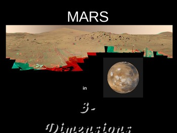 Mars 3-D Power Point