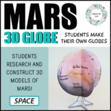 Mars 3D Globe Research Project