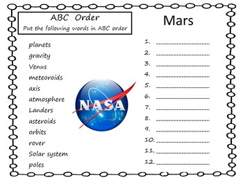 Mars ~ A True Book