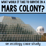 Mars Biosphere Close Reading FREEBIE