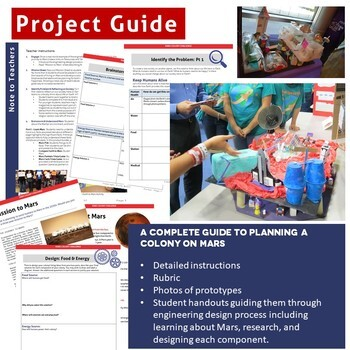 Mars Colony STEM Project: Engineering Design Process
