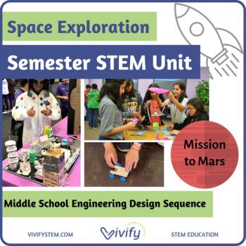 Design a Mars Colony STEM/STEAM Project Bundle!