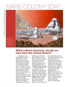 Mars Culture Colony