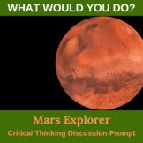Mars Explorer Critical Thinking Activity
