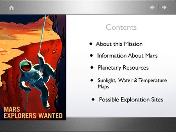 Mars Explorers: Possible Habitation Sites PDF