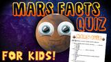 Mars Facts Quiz!