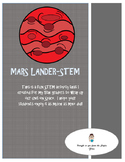 Mars Lander- Space STEM Activity