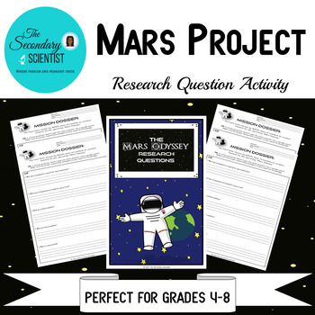 Mars Project Research Questions