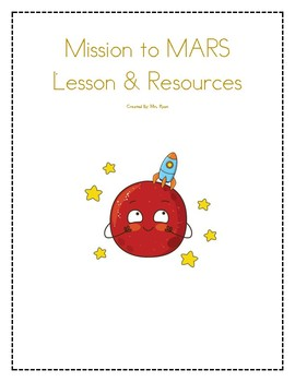 Solar System- Mars PBL Lesson & Resource Bundle