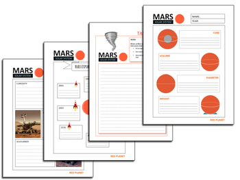Mars Pack ( presentation and task sheets)