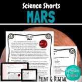 Mars Reading Comprehension Passage