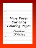 Mars Rover Curiosity Coloring Pages