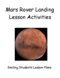 Mars Rover Landing Lesson and Activities!