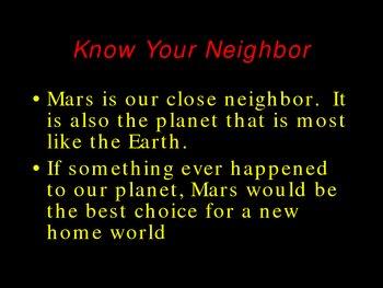 Mars Slideshow