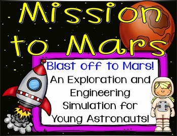 Mars Space Simulation with Engineering Challenges