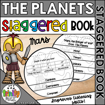 Mars, the Bringer of War from Holst's, The Planets (Staggered Booklet)