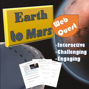 Earth to Mars Physics Web Quest