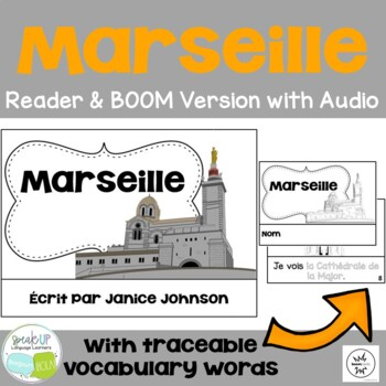 Marseille, France Reader & Vocab work ~ Simplified for Language Learners