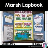 Marsh Lapbook for Early Learners - Animal Habitats