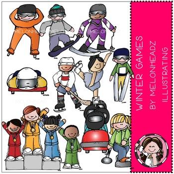 Marsha's winter games by Melonheadz COMBO PACK