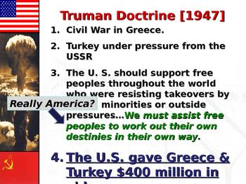 Marshall Plan and Truman Doctrine