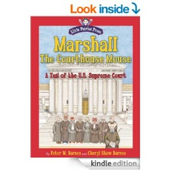 Marshall, The Courthouse Mouse eBOOK